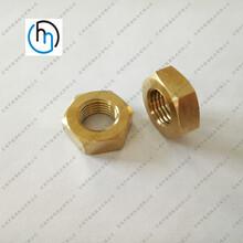 钛合金六角细牙薄螺母定做钛合金六角薄螺母细牙钛标准件厂家直销