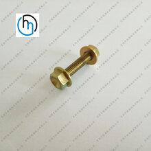 钛外六角法兰螺丝钛六角螺丝定制钛合金非标法兰螺丝厂家直销