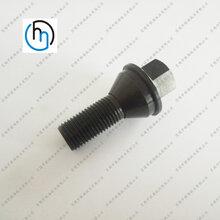 钛合金汽车改装轮毂螺丝螺母螺帽定做钛合金轮胎螺丝钛螺母螺栓
