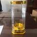 新款亚克力透明酒盒白酒外包装盒定做厂家直供