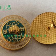 深圳市金属烤漆电镀徽章制作/高效生产优质服务高端品质尽在和康工艺图片