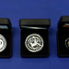 金属纪念币制作厂家/纯铜质锌合金质纪念币定制生产