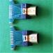 工厂直销高清测试专用HDMI连接器插座MICROHDMI