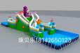 长沙康贝乐游乐水上乐园充气水池支架水池