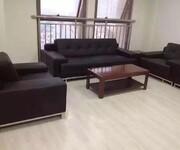 合肥多功能办公沙发床商务办公室沙发简约现代接待会客沙发图片
