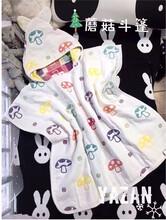 厂家直销雅赞品牌代理官方网站纱布纯棉系列儿童披风图片