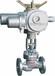 電動截止閥廠家-J941H電動高溫高壓蒸汽/導熱油截止閥