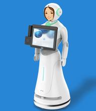 商用多功能机器人,适用于银行、酒店、机场、科技馆等。
