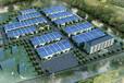 蓬莱鸟瞰图设计公司孵化园区