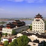 上杭县红木文化小镇效果图设计图片