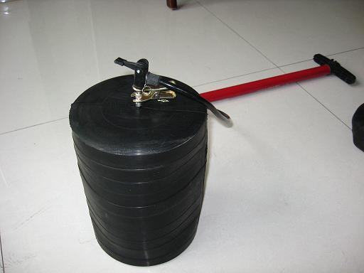 楼房堵水阻水小口径管道封堵器D50D160现货快递水堵