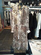 维妮迪17年当季新款真丝连衣裙批量挑款21度服饰高端推出