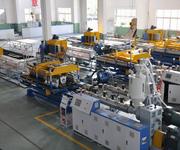华塑PE/PVC315双壁波纹管生产线图片