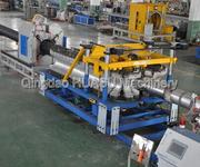 青岛华塑PE/PVC500双壁波纹管生产线图片