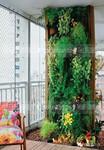 仿真绿植墙,绿植景观,花艺景观,玻璃钢水泥仿真树图片