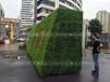 陕西西安及周边酒店通道仿真绿植墙定制