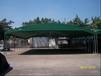 推拉雨棚遮阳棚移动仓库棚大型伸缩推拉帐篷