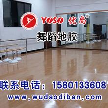 塑胶舞蹈房地板,舞蹈房专用PVC舞蹈地板,专业舞蹈房地胶图片