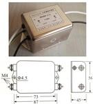 供应:电源滤波器、485can总线端口USB端口滤波器图片