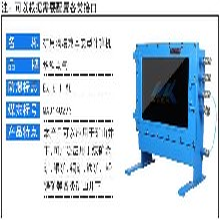 新疆哈密中煤KJD220礦用防爆計算機底價銷售圖片