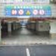 铜梁车库道路划线标示标牌施工图片