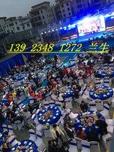 深圳大圆桌椅出租宴会桌椅租赁活动物料出租