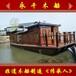 永干木船供應10米仿舊木質畫舫船電動觀光畫舫船