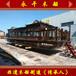 吉林查干湖16米畫舫游船仿舊電動觀光客船水上游船定制廠家