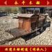 上?;ú憬^展示浙江嘉興南湖紅船展廳中心紅船模型