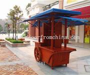 广州番禺夜市移动促销车水果售货车面包售卖车图片