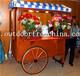 厂家直销衢州休闲街木质摆卖车公园小卖部美食餐车外卖屋