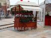 厂家直销定制陕西铜川步行街烧烤车移动奶茶车甜品店摆卖屋