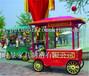 供应云南保山商业广场木质商品摆卖车展示柜售卖车卡通小木屋