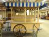 供应湖南湘潭商场木质移动小卖部木质外卖屋奶茶车糕点屋