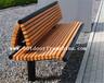 供应云南丽江景区木质休闲椅,长椅,铸铝靠背椅