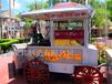 供应厂家直销山西大同商业街木质移动奶茶车,寿司店,无烟烧烤车