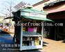 厂家定制天津滨海新区商业街实木售货车移动奶茶车摆卖车