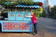 供应山东威海商业街木质移动奶茶车实木外卖屋木质售卖亭摆卖屋