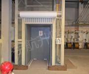 厂家直销液压升降机导轨式货梯单轨双轨厂房专用货梯图片