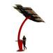 威銀無線城市太陽能座椅智慧公園座椅太陽能椅WYC2065廠家直銷