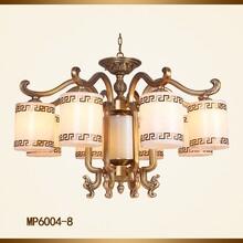 中式云石吊灯中式全铜灯新中式灯具定做