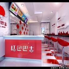 南充家装工装设计效果图营山县餐饮装修设计施工图片