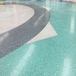凉山学校操场烂地面修补改造,用无机纳米硅金刚地坪