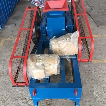 展航供應400250對輥破碎機飼料塊化肥塊粉碎機米石破碎機