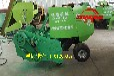 田间牵引式秸秆粉碎打捆机收割粉碎整棵秸秆打包机