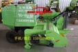 大马力拖拉机悬挂玉米秸秆粉碎打捆机苞米收割打包机视频