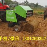 收割粉碎后的水稻秸秆打捆机秸秆打包机厂家图片