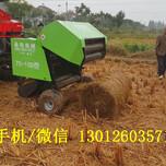 专业收集秸秆打捆机收获水稻秸秆打捆机价格图片