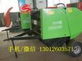质量可靠型豆秸捡拾打包机全自动牧草打包机工作视频图片