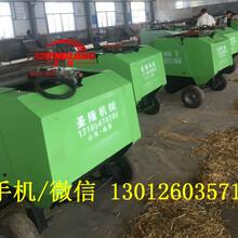 专业捡拾水稻秸秆打捆机价格行走式秸秆打包机作业视频图片